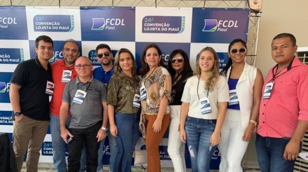 Empresários oeirenses participam da 24ª convenção lojista do Piauí